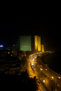 Marine Drive at night