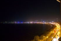 Marine Drive at night - 2